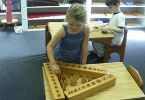 The Montessori Preschool Program