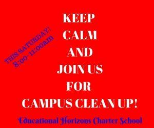Campus Clean Up!